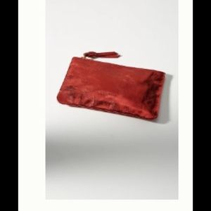 Nwt anthropologie red clutch